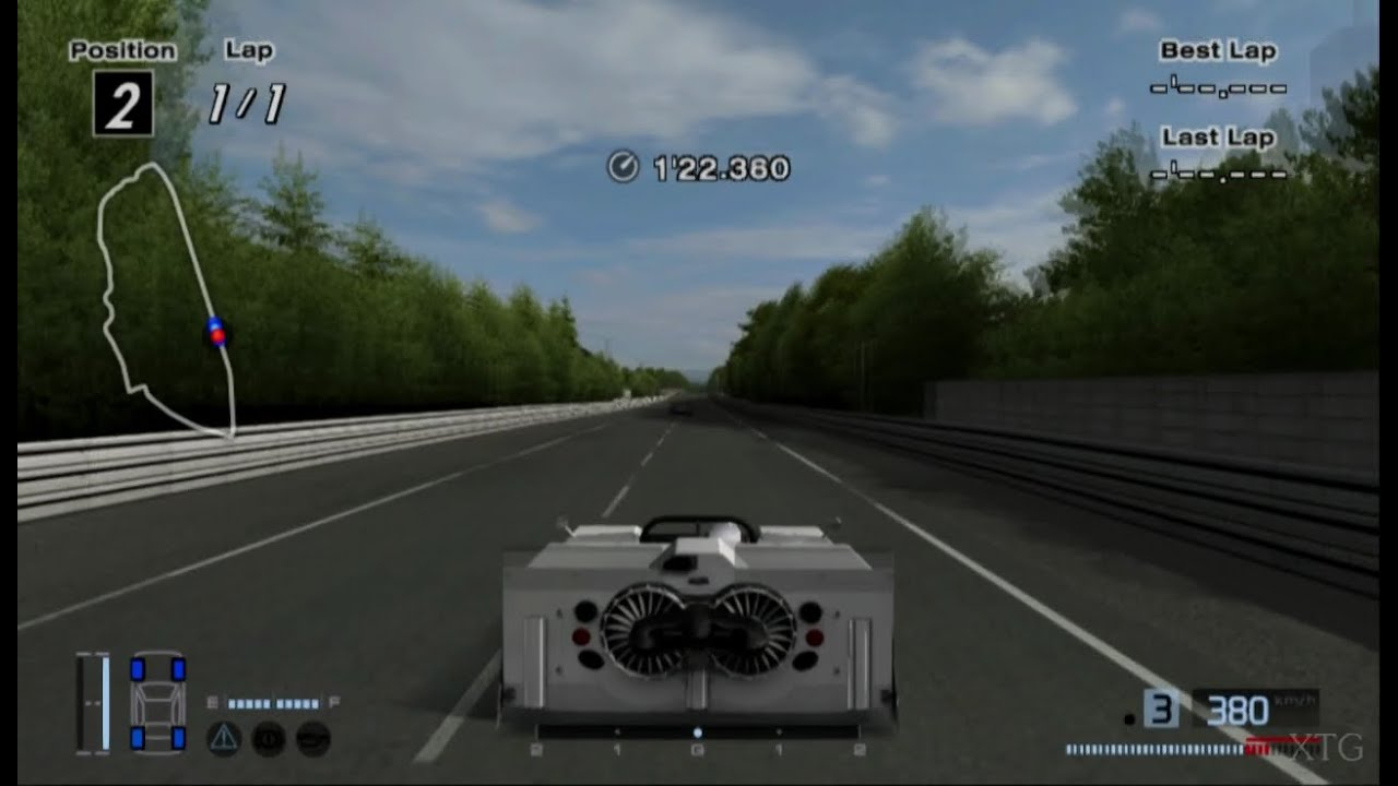 gran turismo 4 chaparral 2j race car hd ps2 gameplay. Black Bedroom Furniture Sets. Home Design Ideas