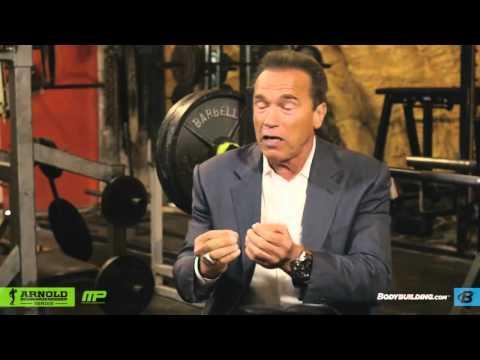 Arnold Schwarzenegger on Training Partners