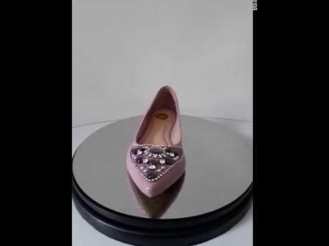 a8aaaacc2 Sapatilha pedraria verniz rosa 411 - Ana Kross