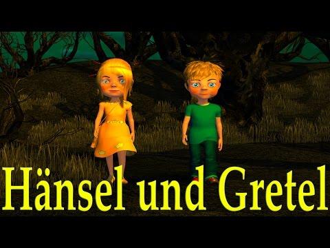 Hänsel und Gretel 3D | Kinderlieder deutsch