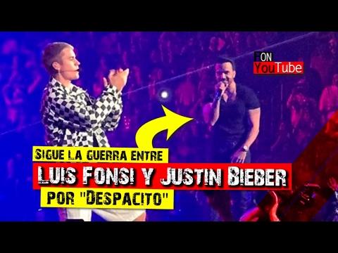 Sigue la pelea entre Luis Fonsi y Justin Bieber por
