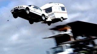 World Record Car Jump TBT Fifth Gear
