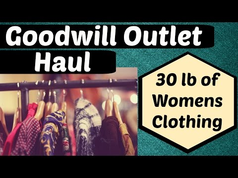 GOODWILL OUTLET THRIFT HAUL ✿ Women's Clothing