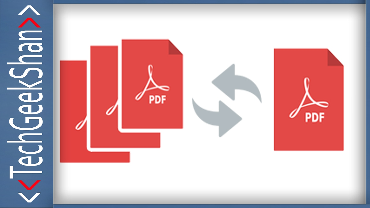 Merge Different PDF File Pages into Single PDF File ...