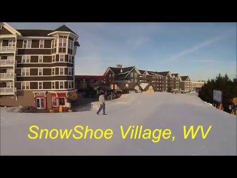 SnowShoe Mountain Ski Resort, West Virginia. USA