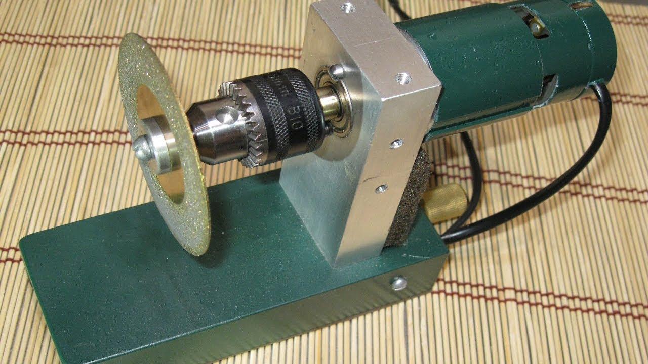 ✔ САМОДЕЛКА — ЗАТОЧНОЙ СТАНОК  ✔ HOW TO MAKE THE GRINDING MACHINE