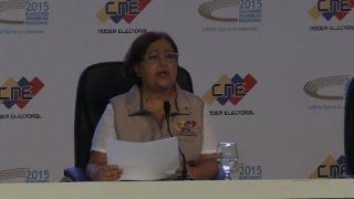 Autoridad electoral confirma triunfo de oposición en Venezuela