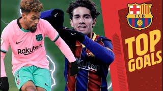 🔝 COLLADO, KONRAD, REY MANAJ... | TOP 5 BEST BARÇA B GOALS (2020/21)