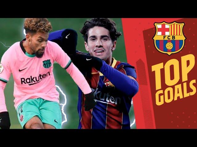 🔝 COLLADO, KONRAD, REY MANAJ...   TOP 5 BEST BARÇA B GOALS (2020/21)
