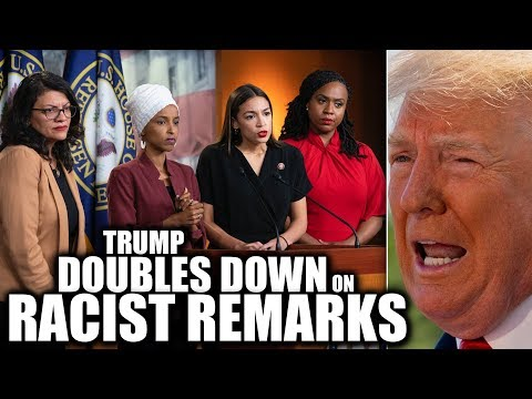 Ocasio-Cortez's Squad Responds to Trump's Racist Tirade After He Attacks Them AGAIN