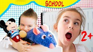 Мелисса играет в школу с Артуром