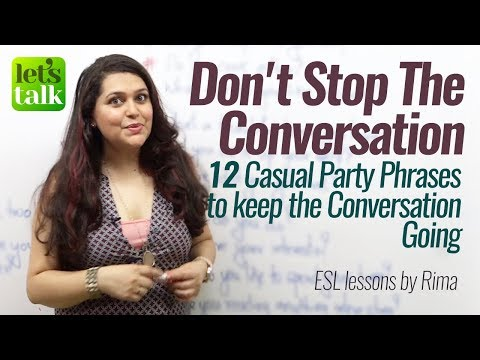 Casual Party Conversation Phrases to Speak fluent & Confident English – Free English Lessons