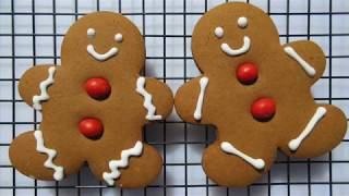 GINGERBREAD COOKIES | STAIN GLASS COOKIES | Christmas Cookie Recipes