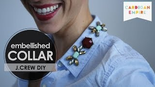 DIY: Embellished Collar Inspired by J.Crew Thumbnail