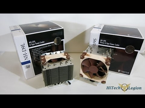 Noctua NH U9S and NH D9L Low Profile Tower Cooler Overview, Intsallation and Benchmarks