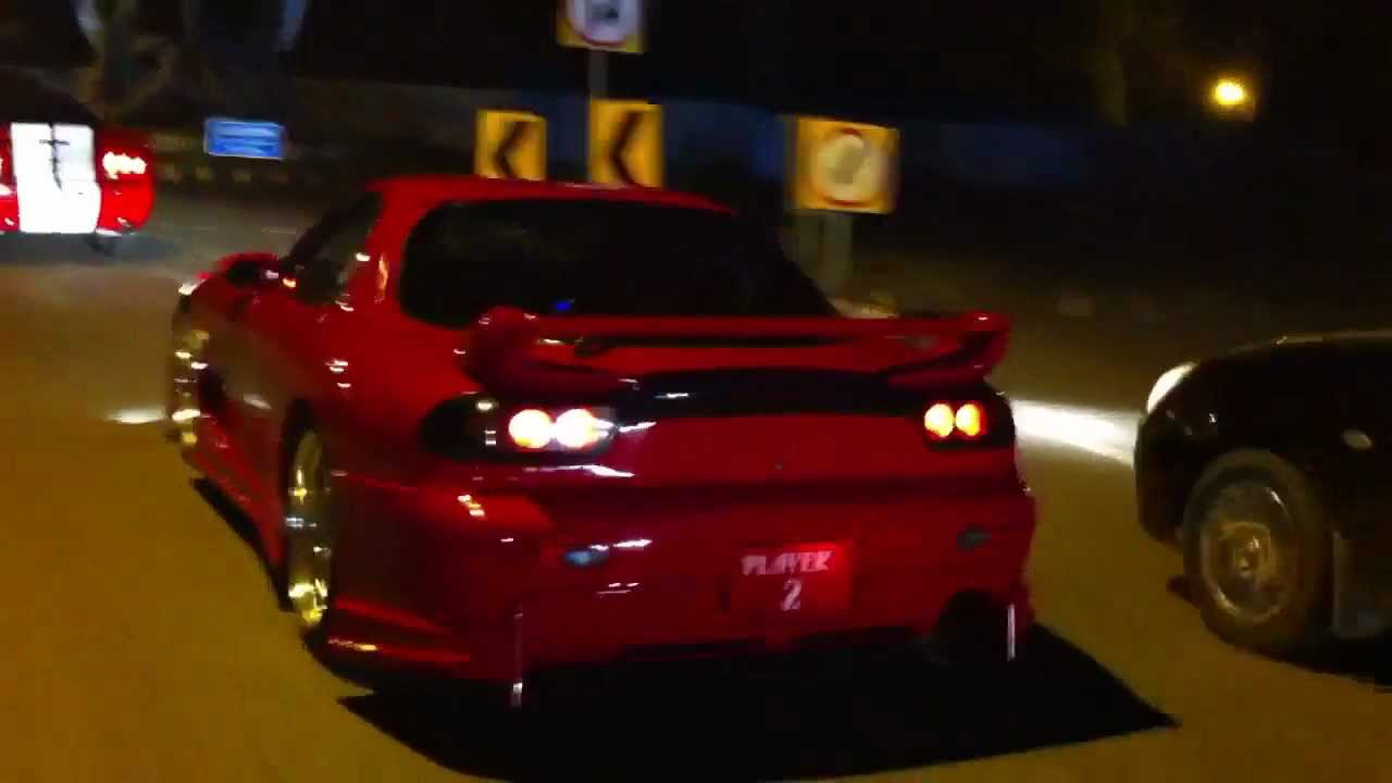 Mustang Foose Stallion Mazda Rx 7 In Lahore Youtube
