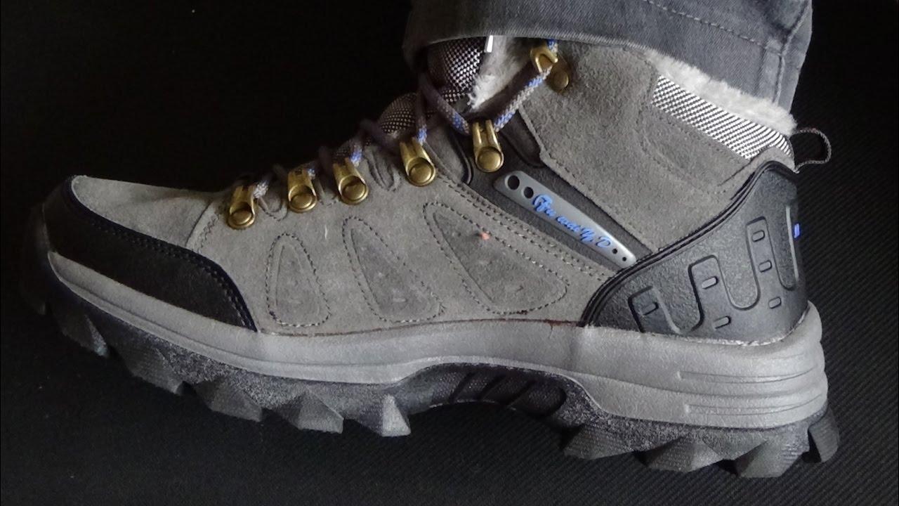 Трекинговые ботинки Grisport hiking plus обзор - YouTube