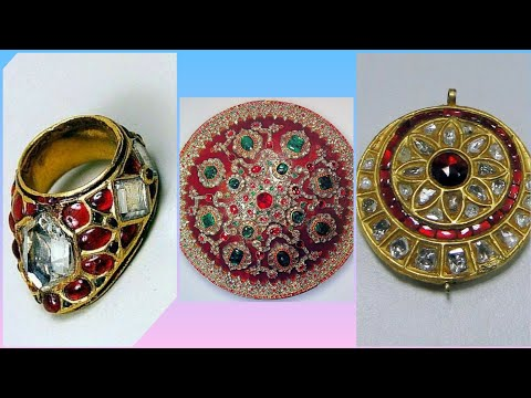 Antique jewelry of Mughal Kings