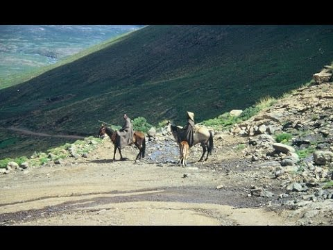 Kotisephola Pass (Lesotho) - Mountain Passes of South Africa