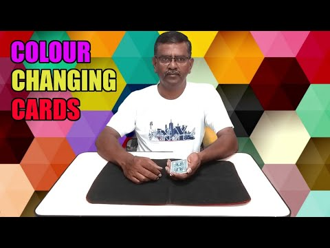 MAGIC TRICKS VIDEOS IN TAMIL #679 I COLOUR CHANGING CARDS I தமிழ் மேஜிக் I @Magic Vijay