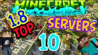 TOP 10 Servers Pirata MINECRAFT 1.8