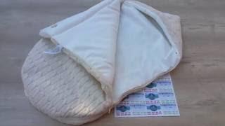 Вязаный конверт на выписку Кокон  Цвет бежевый(Этот конверт по сути матрасик и одеялко, гармонично соединенные в уютное изделие. Цена конверта 491грн. ..., 2016-10-13T06:58:42.000Z)