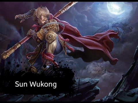 Ace Of Arenas : Sun Wukong ☆ (Offline Mode) - Test Skill