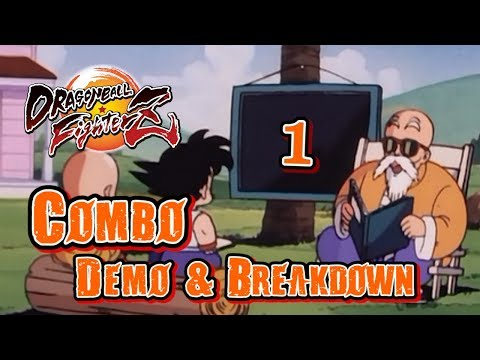 【DBFZ】Assorted Demo/Tutorial [Ver 1.11] - Gotenks, Goku Black, Teen & Adult Gohan, Ginyu