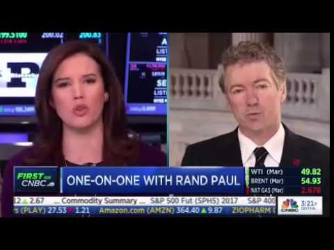 Highlights from Rand Paul's Testy Interview on CNBC