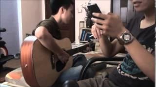 Trót Yêu cover - Tuấn Phong guitar Mạnh Hùng