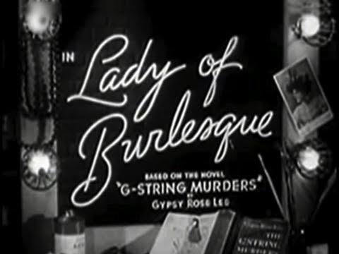 Lady of Burlesque 1943 Comedy Horror
