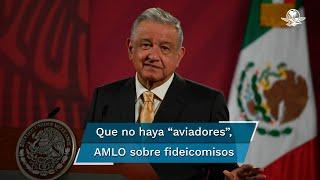 """El Presidente Andrés Manuel López Obrador señaló que estos fideicomisos estaban """"fuera de control"""" y que no había transparencia en su entrega"""