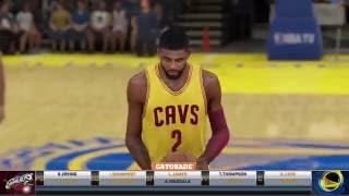 NBA 2K FINALS warriors vs cavs gameplay Game 2 part 1