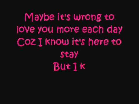 Maybe Lyrics BY KING