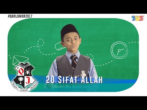 Qari Junior 2017 | 20 Sifat Allah