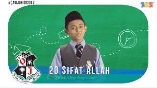 Qari Junior 2017 20 Sifat Allah