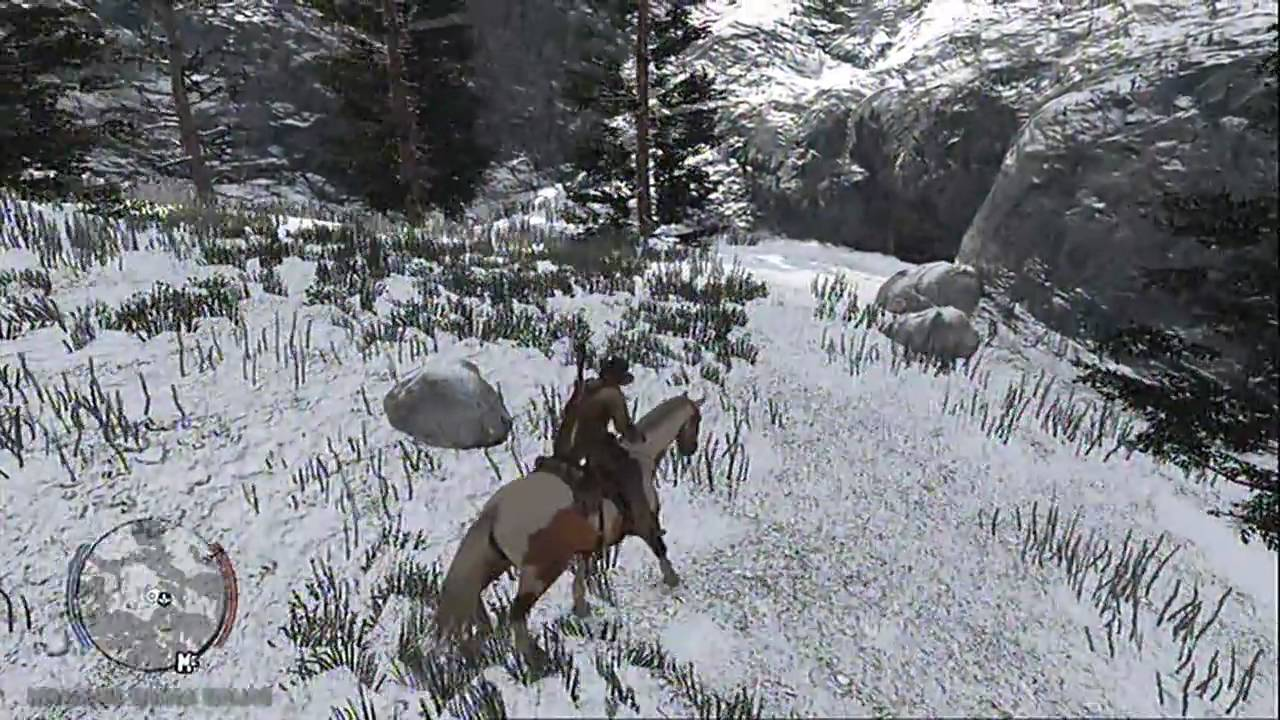 how to get to tall trees red dead redemption