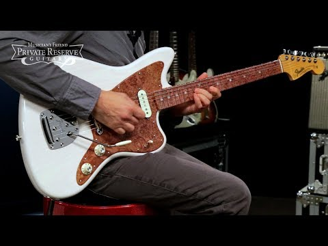 Fender Custom Shop Founders Design Jazzmaster Electric Guitar Designed By George Blanda