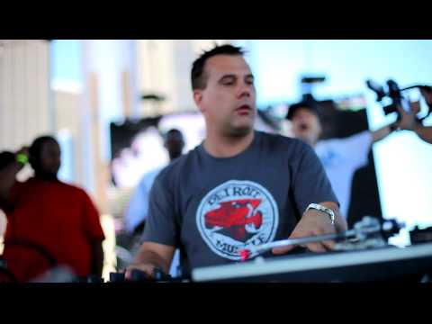 DJ Godfather Opening Set.  Movement 2010