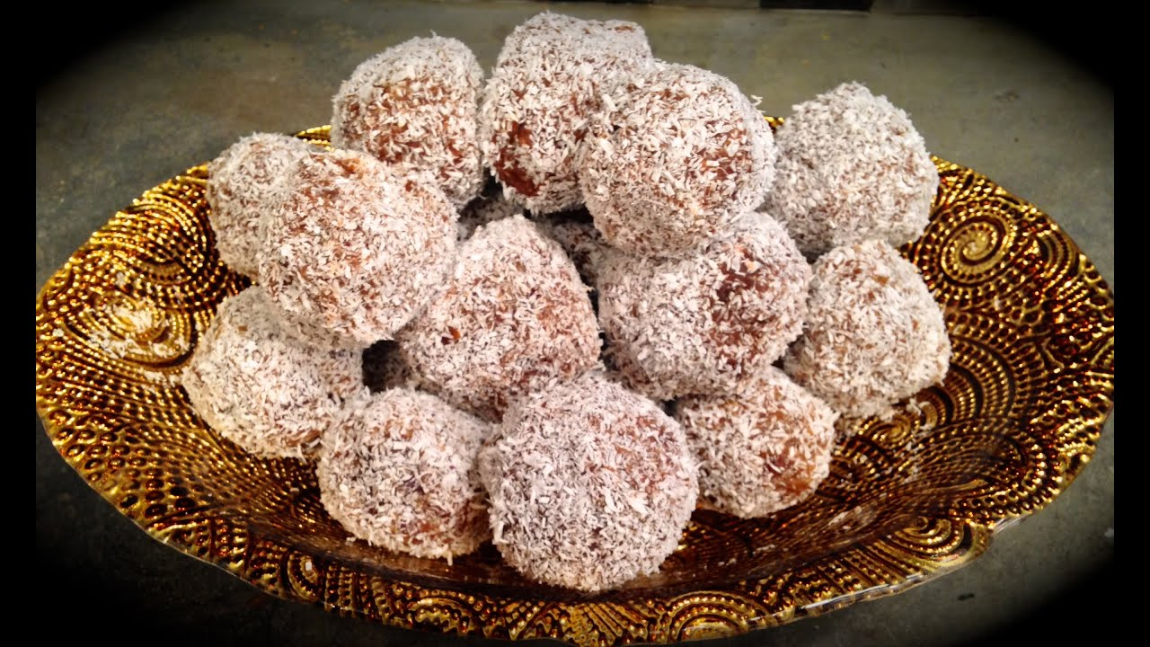 Day 7 Raw Vegan Coconut Date Balls Recipe