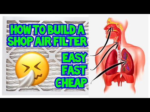 How To Build A DIY Wood Shop Air Filter