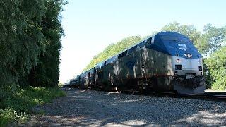 Amtrak [63] Maple Leaf w/ Viewliner II Baggage @ Pirate Canoe Crossing