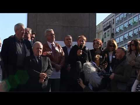 """Protest advokata - ,,Minut do 12""""  4.11.2014."""