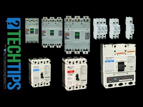 Selecting and Using Circuit Breakers for Industrial Automation (MCB, MCCB)