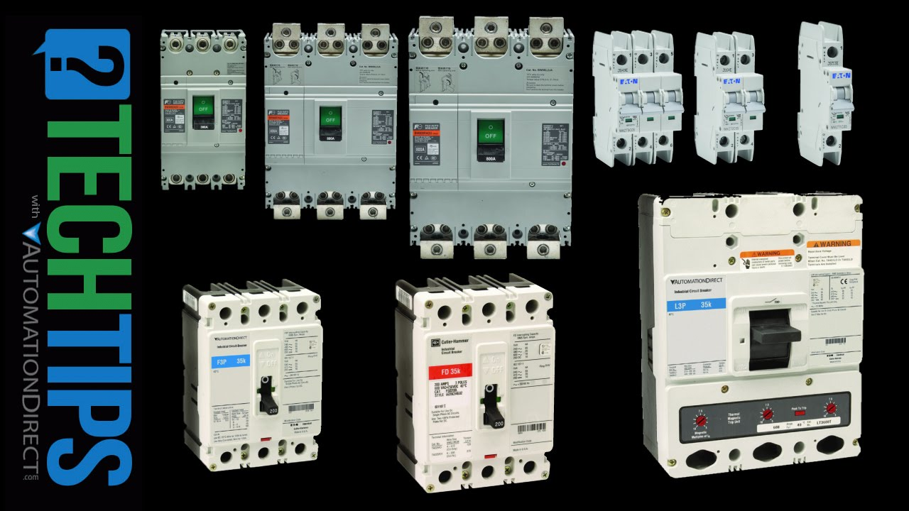 Selecting And Using Circuit Breakers For Industrial Automation Youtube How To Turn On Off Main Video