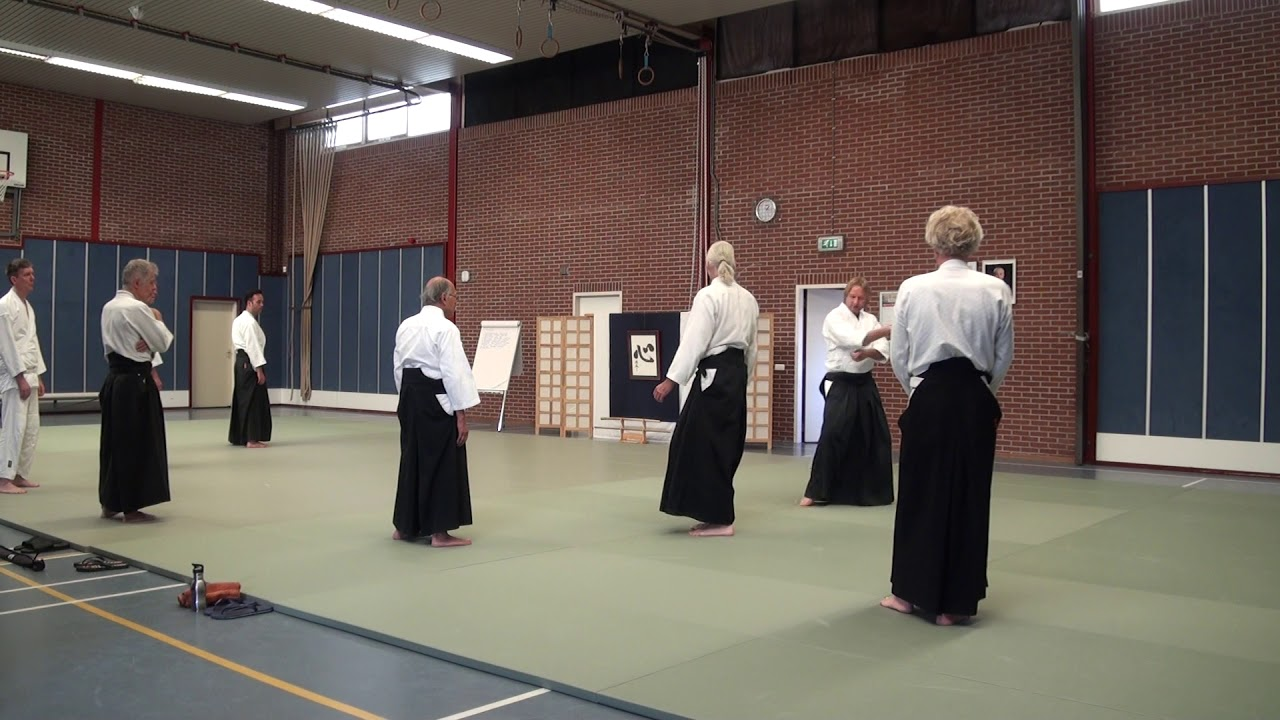 Aikido Yuishinkai Alkmaar training 21-10-2017 afternoon – aikido