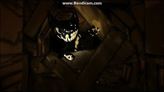 Bendy And The Ink Machine Ink Bendy Jumpscare Comparisons Chapters 1-2