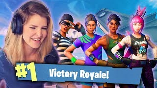 GIRL SQUADS! WE SURVIVED TILTED! ft. Valkyrae, xChocoBars & AlexiaRaye (Fortnite: Battle Royale)