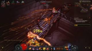 попытка пройти нефалемский портал на истязание 10 за 6 минут. Diablo III