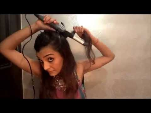 Get Ready For Indian Wedding Hair Part 2 Messy Side Bun Youtube